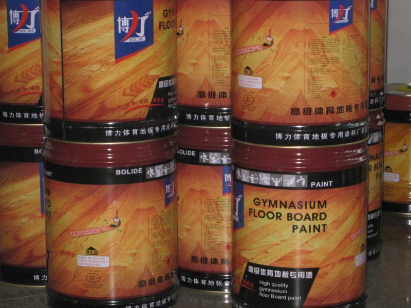 青岛体育地板漆批发供应,体育地板漆如何