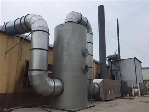 庆阳活性炭吸附塔公司|西安哪里有卖质量硬的庆阳废气处理设备