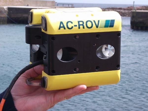 英国AC-ROV微型水下机器人 海洲赛维