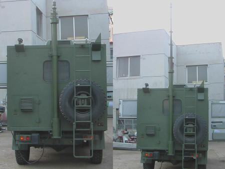 沈阳军用通讯升降杆的天线有什么作用呢?