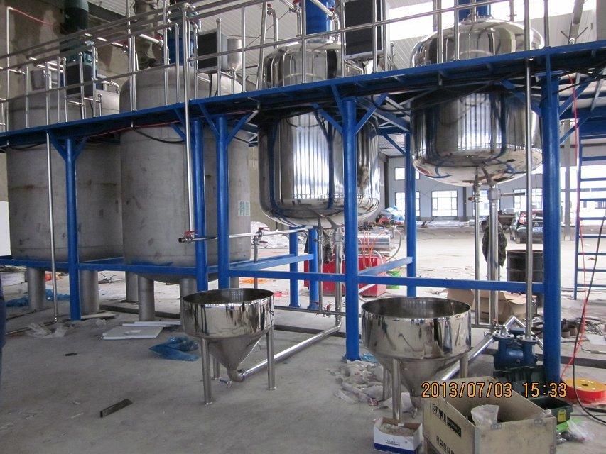 不锈钢涂料成套设备-划算的涂料成套设备莱州泰松化工供应