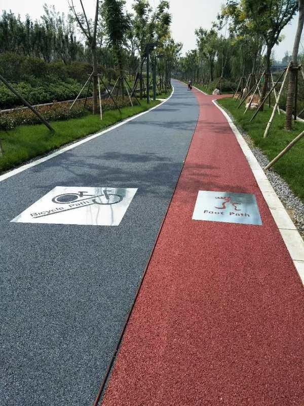 超值的彩色透水地坪-青岛锦尚地坪供应好的彩色透水地坪