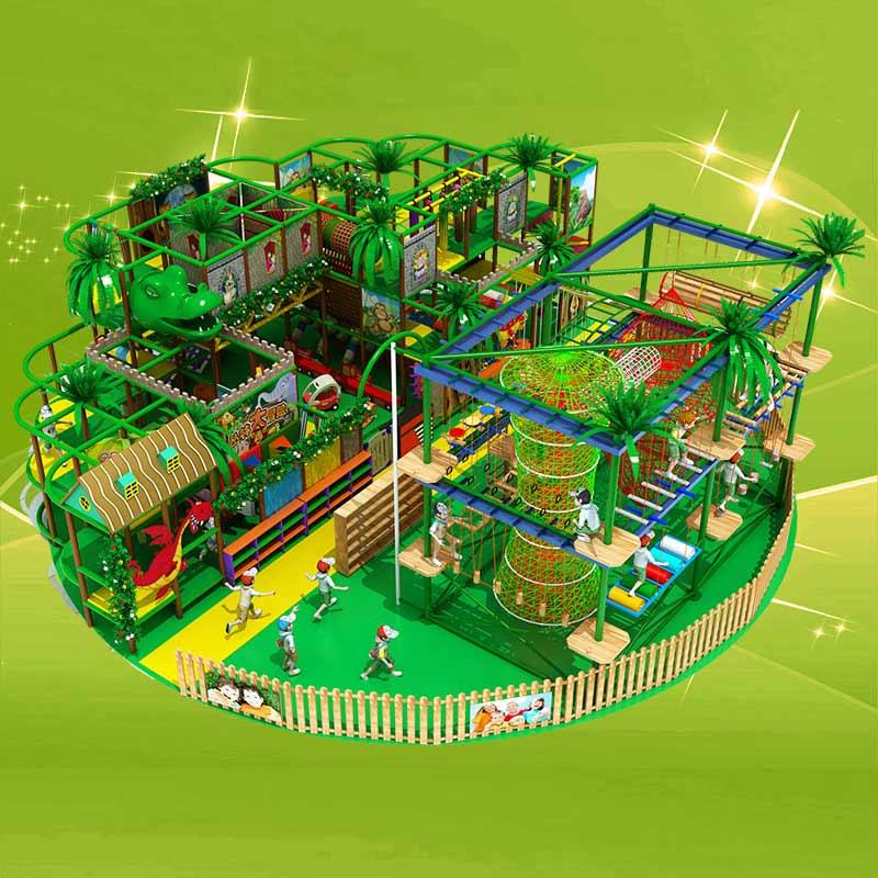 专业供应淘气堡——室内儿童乐园设施设计新颖