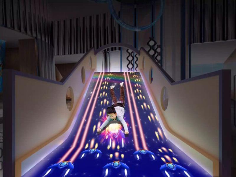 儿童投影互动开发-广东专业的互动投影滑梯