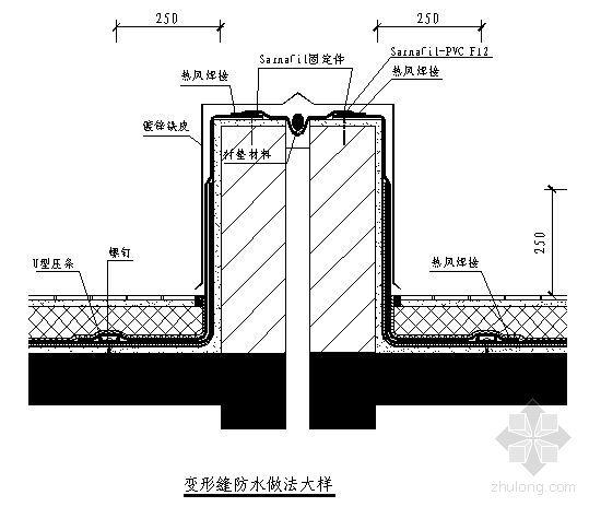 新疆建筑变形缝