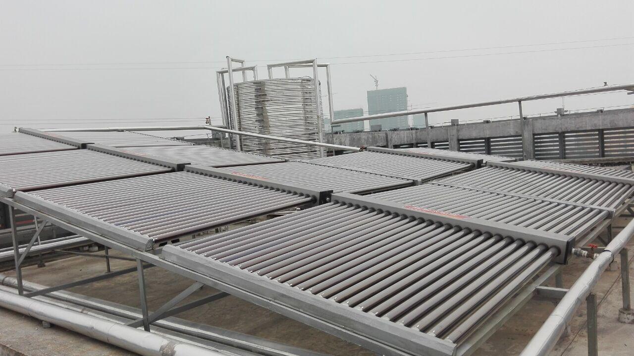 房产配套热水工程,广西太阳能热水工程