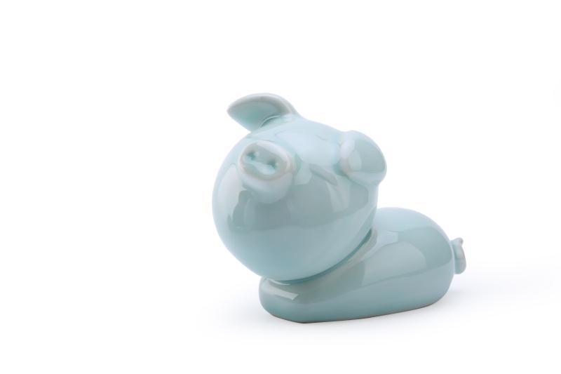 可爱猪年摆件陶瓷定制_为您推荐销量好的童趣