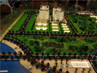 成都区域规划模型,四川城市规划模型