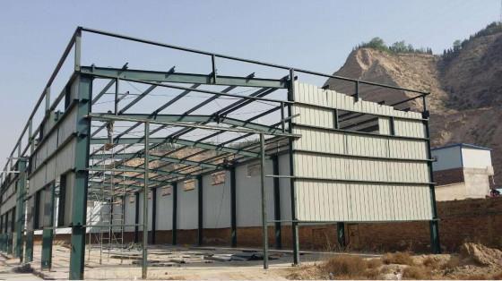 乌鲁木齐钢结构彩板厂家-销量好的新疆彩板钢结构推荐