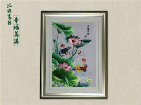 铜川刺绣装饰画价格-供应西安高性价刺绣装饰画