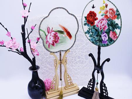 汉中客厅装饰画批发-西安实惠的刺绣装饰画