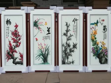安康大型山水刺绣画哪家好-西安物美价廉的刺绣装饰画哪里可以买到