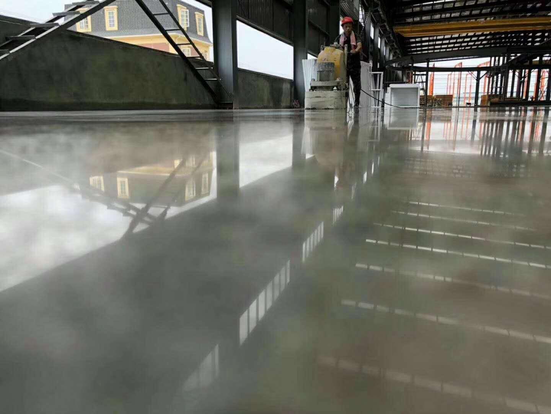 黄岛硬化地坪修复---锦尚地坪工程