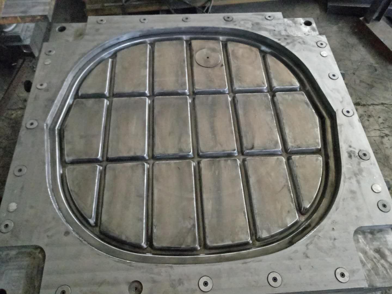 河北玻璃钢模压一体化粪池隔板模具