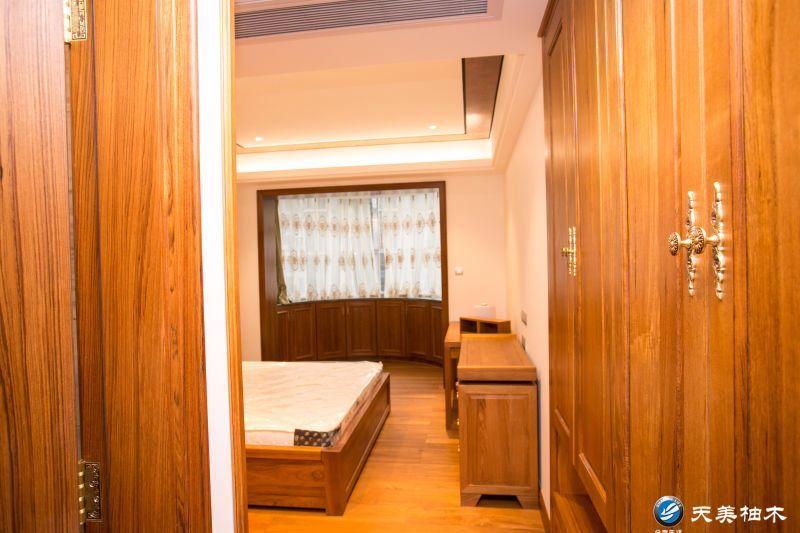 天美整木家具提供的原木门怎么样_浙江瓦城柚木/广州柚木衣柜