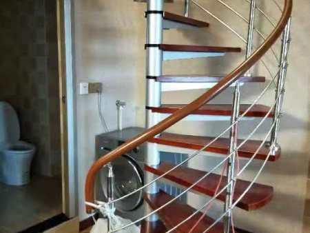 大渡口栏杆厂家地址-高水平的豪安实木楼梯推荐