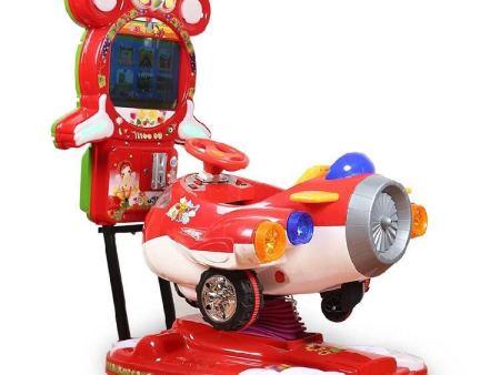 投币摇摆游戏机哪个牌子好 优良的摇摆机就在英杰儿童主题乐园