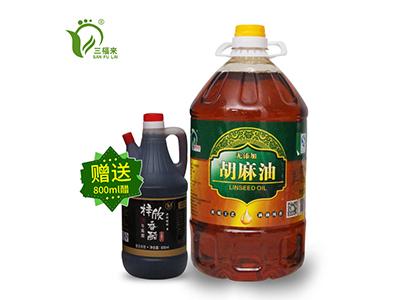 宁夏胡麻油厂家-固原哪里有供应品质好的宁夏胡麻油