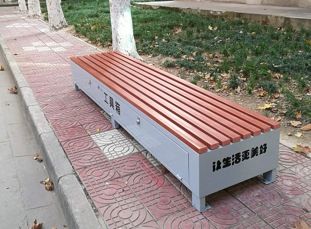 落地式烟灰桶价格-专业的西安灭烟柱供应商-志诚塑木