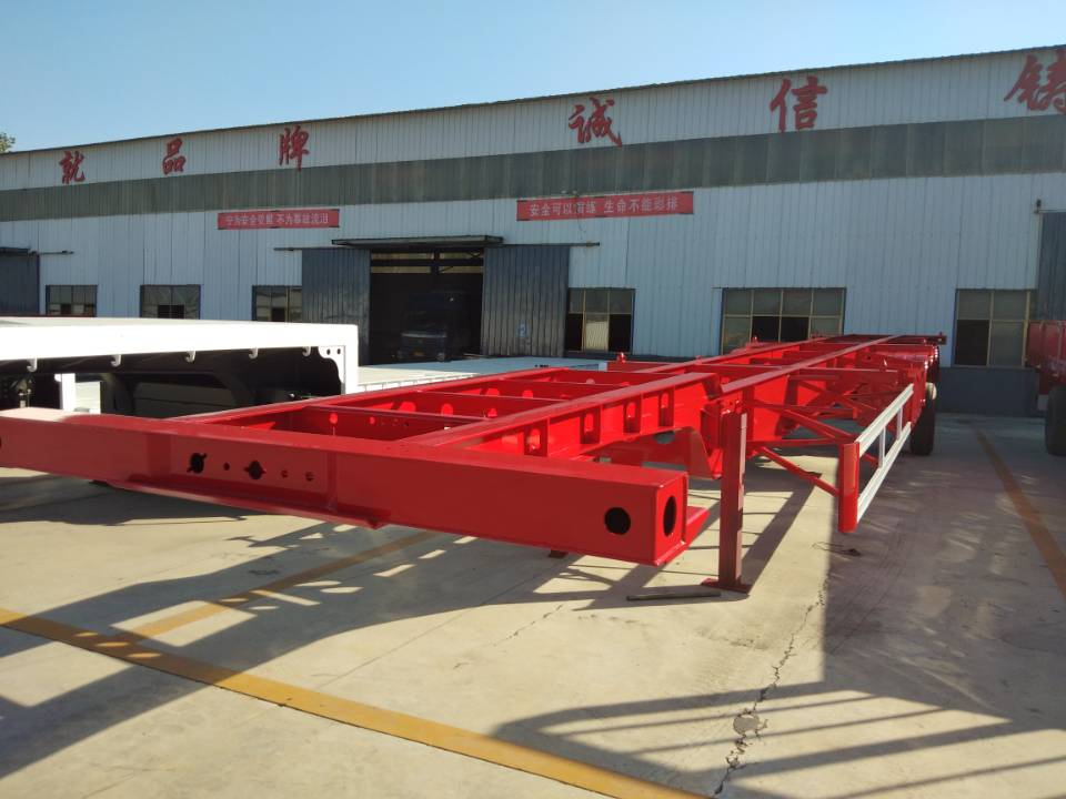 集装箱运输半挂车供货厂家-江苏不错的集装箱运输半挂车销售