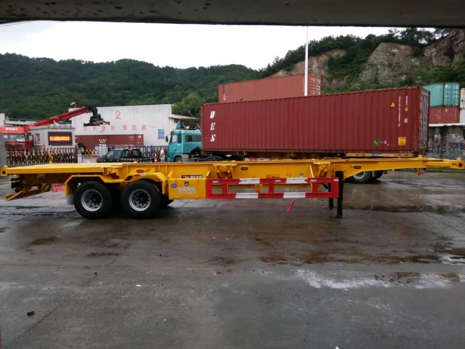 特色的集装箱运输半挂车-质量好的集装箱运输半挂车当选奔腾工贸