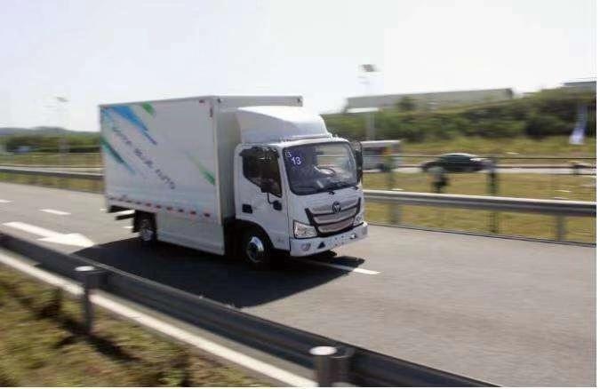 品牌好的福田欧马可智蓝供货商 售卖新能源轻卡货车
