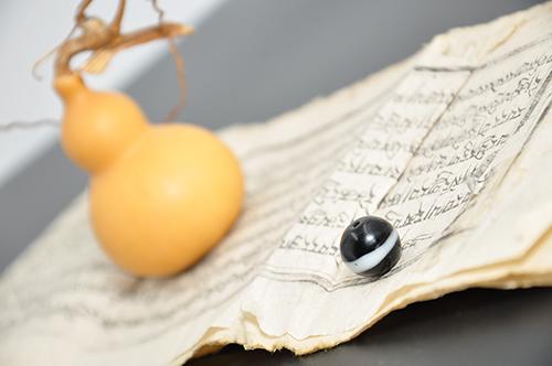 阿拉善盟清代药师琉璃天珠|口碑好的清代药师琉璃天珠内蒙古方寸文化优惠供应