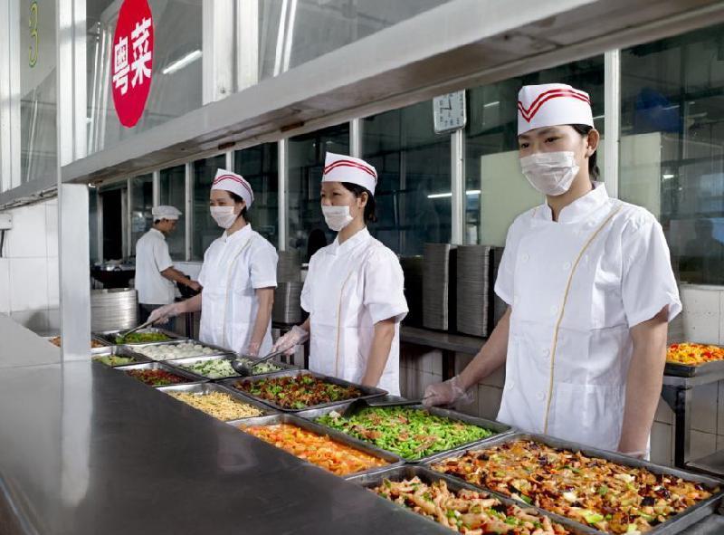 学校食堂承包|名声好的单位食堂承包优选西安鹿洁餐饮