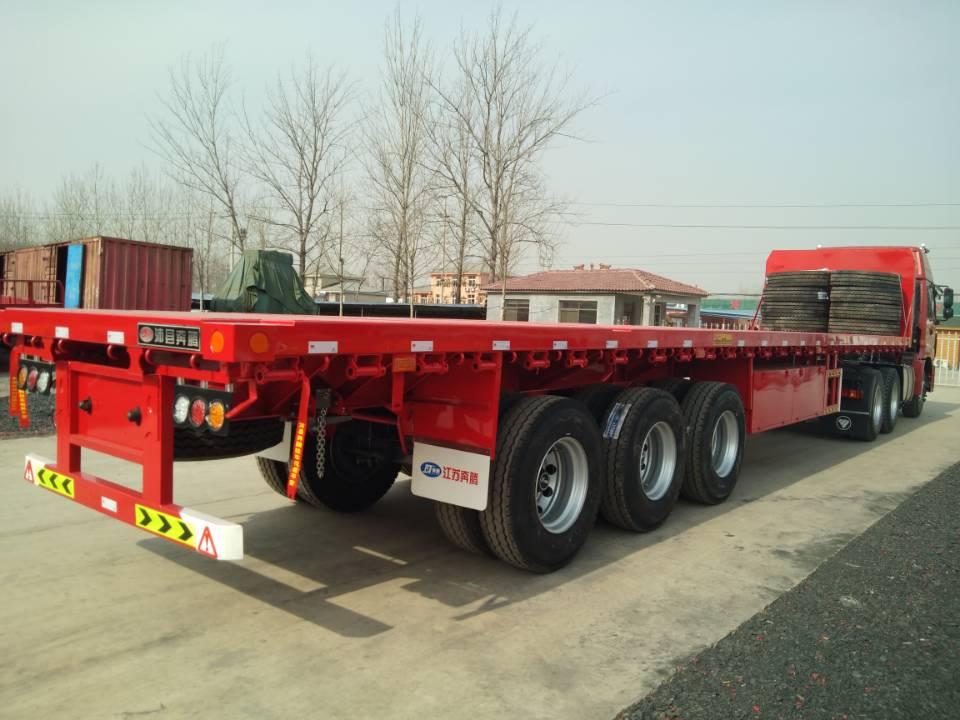 平板运输半挂车制造商-有品质的平板运输半挂车徐州哪里有售