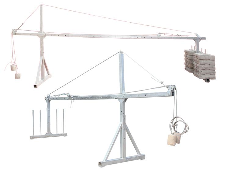 建筑吊篮配件/建筑吊篮支架/ 泉州市博超机械租赁有限