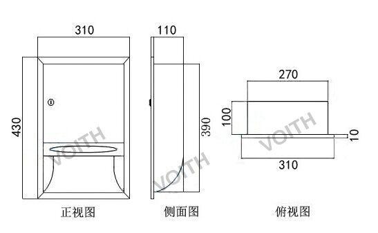甘肃不锈钢手纸箱多少钱-上海市信誉好的嵌入式不锈钢手纸箱供应商