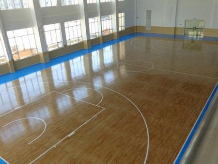 篮球馆运动木地板安装|品牌运动木地板专业供应