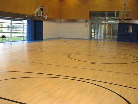 篮球馆运动木地板供应_河北高性价运动木地板供应