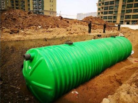 玻璃钢化粪池是怎样节约用水的