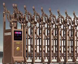 平涼電動伸縮門生產廠家,哪里可以買到新款電動伸縮門