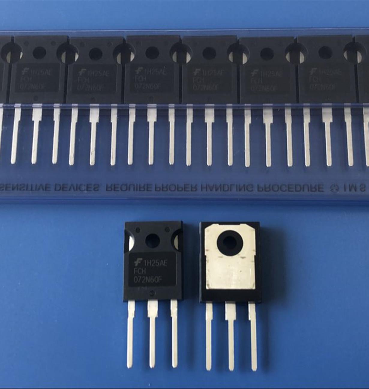 晟鑫微科技提供品质好的场效应管FCH072N60F-推荐场效应管FCH072N60F