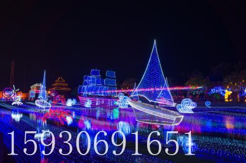 演出灯光工程_河北可靠的灯光节公司
