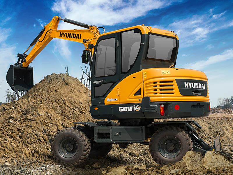 現代R60WVS價格_江蘇天恒偉業挖掘機多少錢
