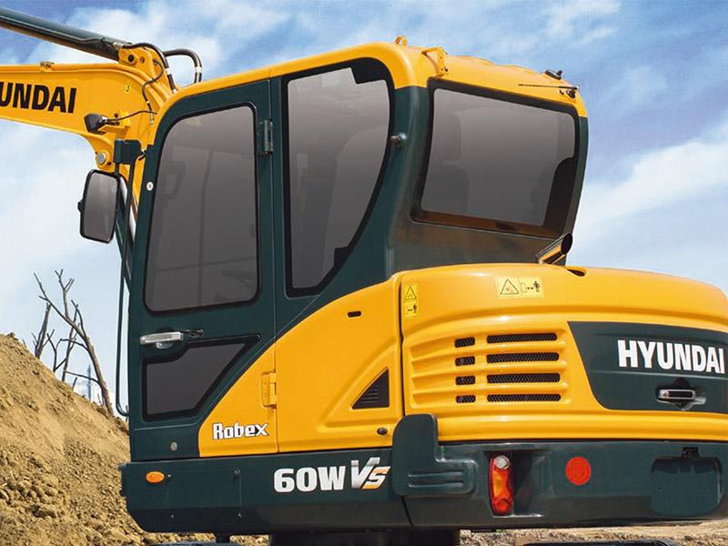江苏现代R60WVS厂家-专业的挖掘机供应