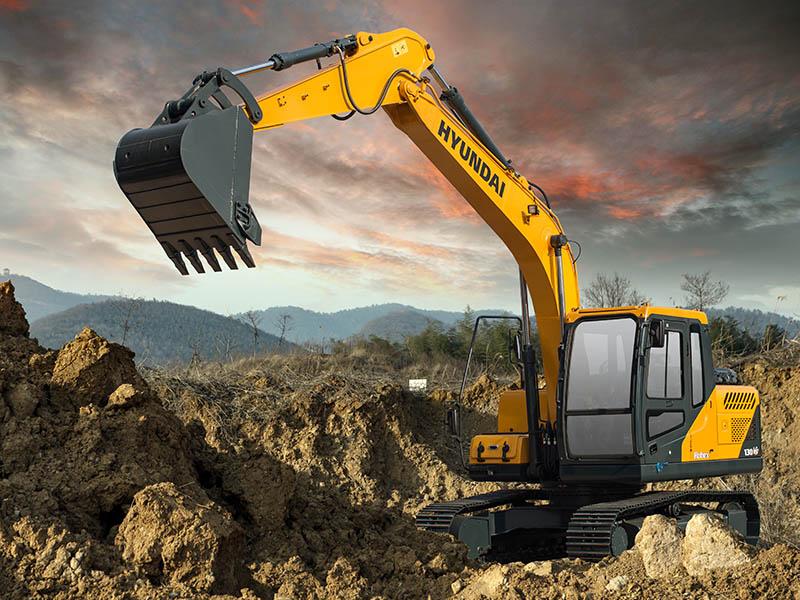 現代R130VS挖掘機-江蘇天恒偉業現代R130VS-挖掘機生產廠