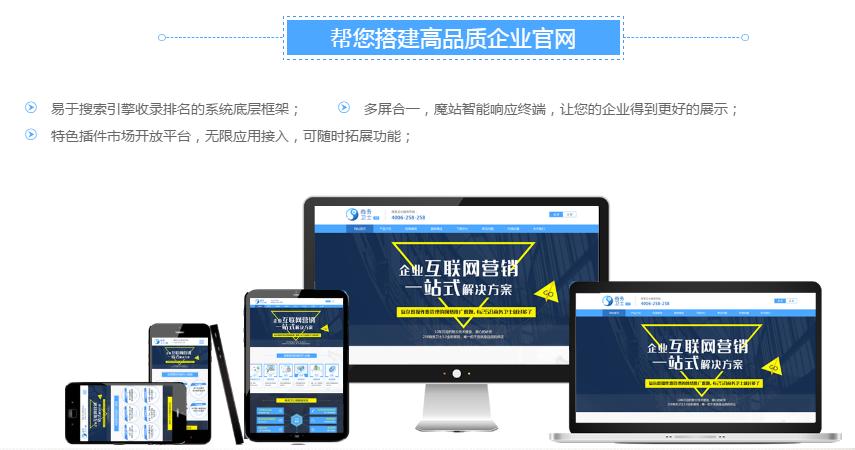 合肥网站建设系统项目-供应可靠的258魔站