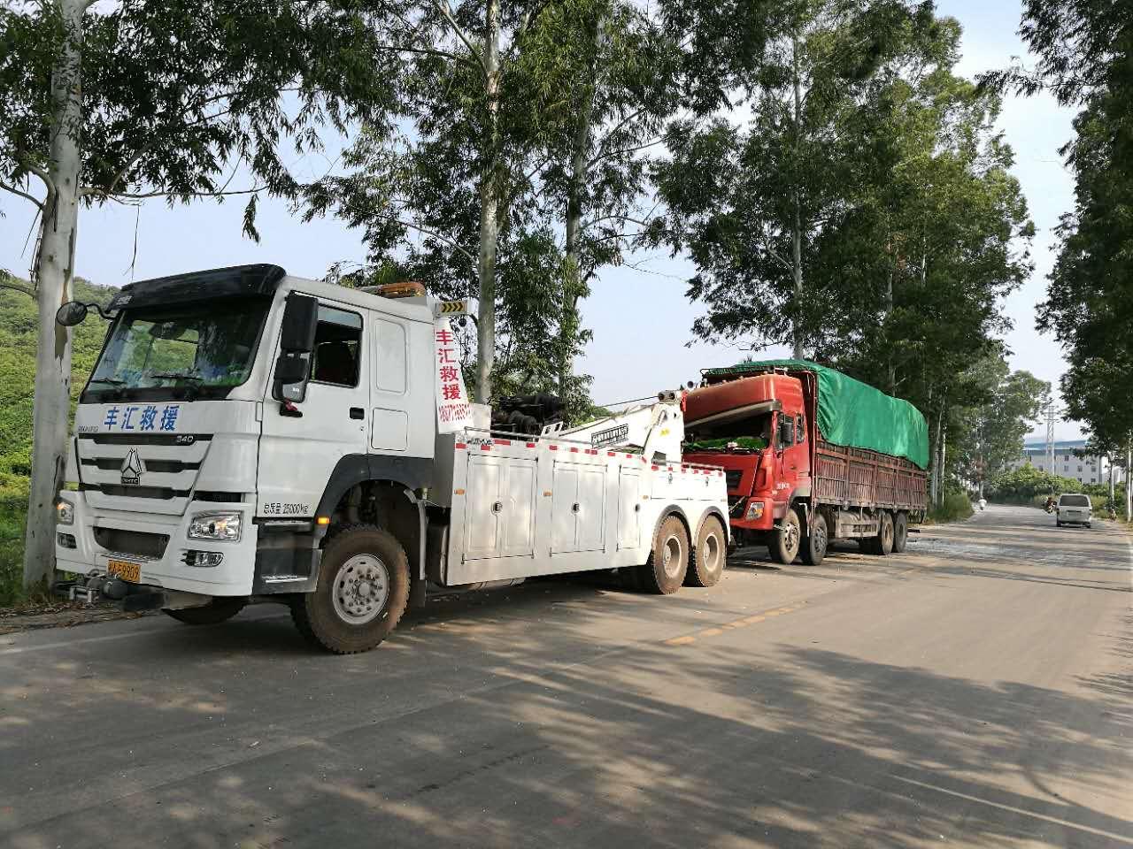 南宁专业可靠的道路拖车救援,广西道路救援