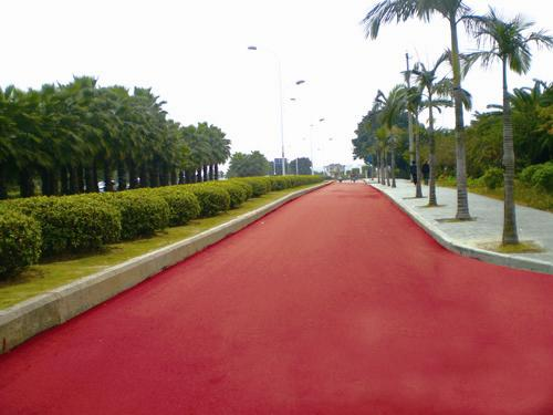 新疆彩色防滑材料 什么样的宁夏彩色防滑材料供应耐用