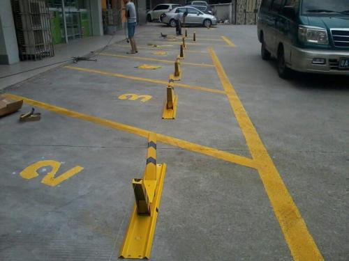 车位锁安装-买品质好的车位锁当然是到湖南航旗交通设施了