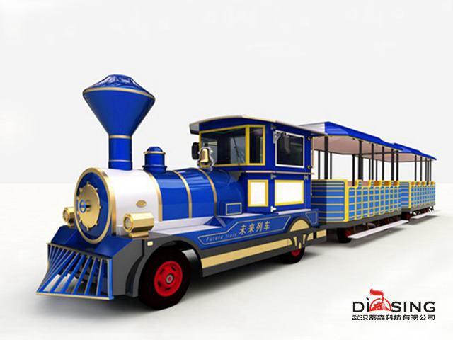 買好的觀光小火車當然是到武漢蒂森科技了-河南觀光列車報價