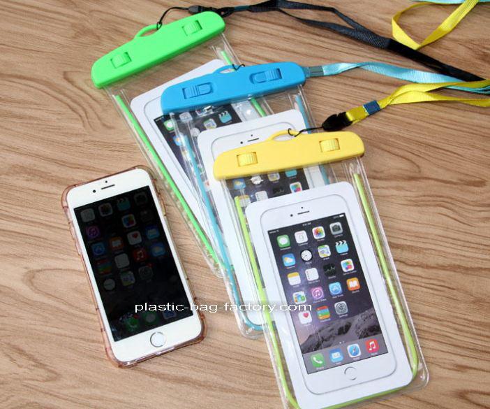 艾来屋家居用品有限公司专业供应PVC手机防水袋-PVC防水袋工厂