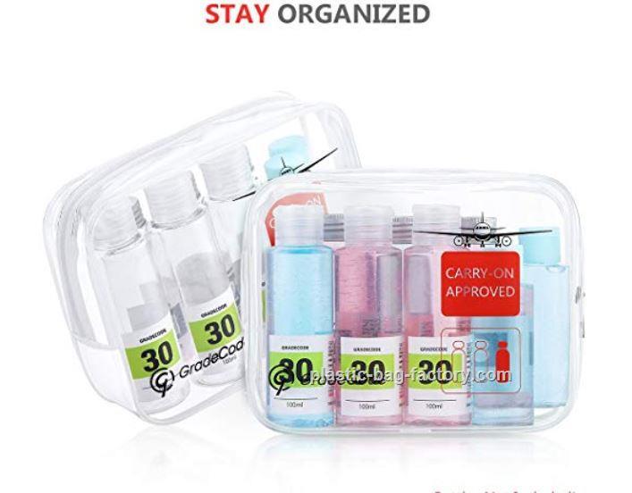 鸿泰PVC胶袋厂为您提供价格优惠的PVC透明化妆袋-PVC透明化妆袋厂家