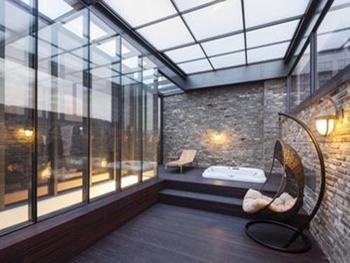 大跨度陽光房報價|高質量的鋁合金陽光房直銷