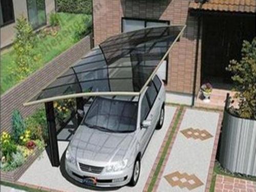 西安铝合金停车棚多少钱|耐用的铝合金雨棚当选义德心建材