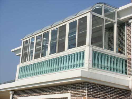 铝合金阳光房设计|划算的铝合金阳光房义德心建材供应